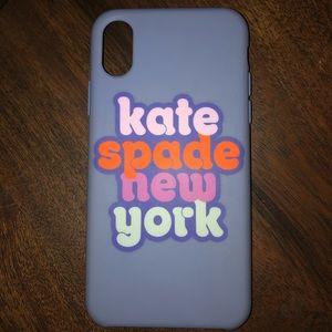 Late Spade New York IPhone X case